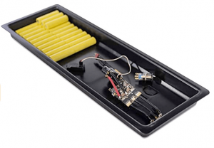 Common electric skateboard battery array